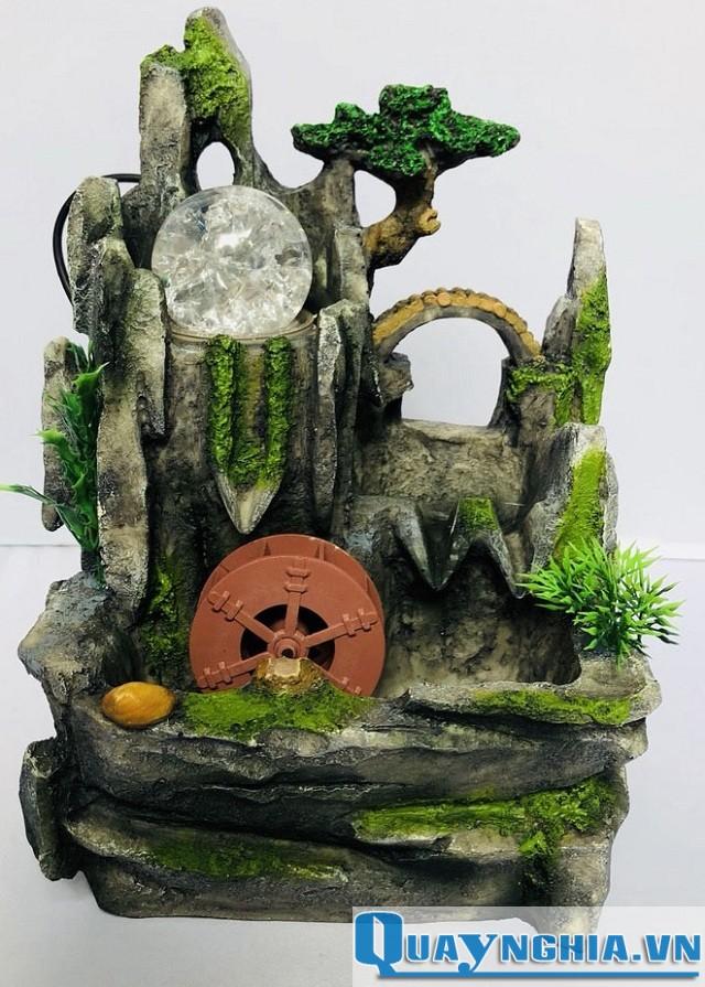 thác nước mini đê bàn