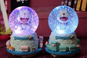 Quả Cầu Tuyết Doraemon