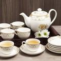 Bộ ấm trà sứ - quà tặng cho công nhân đẹp mà ý nghĩa