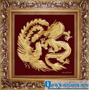 Tranh Rồng - Phượng phú quý